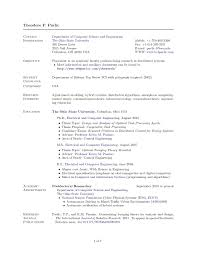 Academic Resume Templates Academic Resume Template Horsh Beirut Academic Resume Templates 9