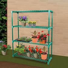 2x garden greenhouse steel plant