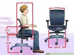 office chair wiki. Office Chairs For Posture Image Titled Choose Ergonomic Seating Step 2 With Support Chair Wiki