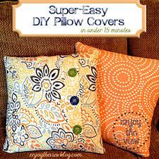 Throw Pillow Cover Tutorial