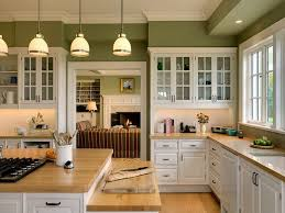 image of good kitchen colors with oak cabinets