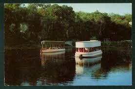 glass bottom boats aquarena san marcos river texas postcard hippostcard