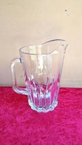 beautiful large glass jug vase