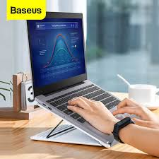 <b>Baseus Portable Laptop Stand</b> For Macbook Air Pro 16 15 14 13 ...