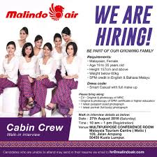 fly gosh ndo air cabin crew recruitment walk in interview
