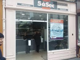 5 a sec laundry. photo of pressing 5 a sec paris france the facade laundry