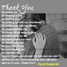 Thank You For Loving Me Interesting Thank You For Loving Me Quotes