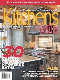 Kitchen Magazine Making Waves Splash Kitchens Baths