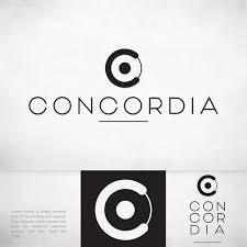 Concordia Design Portfolio Colorful Upmarket Investment Advisory Logo Design For The