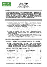 Example Of Profile In Resume Sample Resume Skills Profile Free Resume Templates 10
