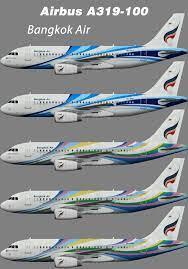Bangkok Air – Juergen's paint hangar