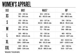 Size Chart Kii Morgan
