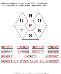 answer make words using letters n o s s t u p