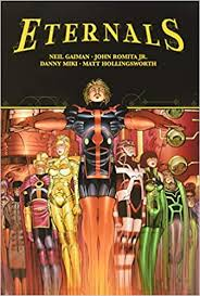 Eternals will introduce audiences to a whole new side of the marvel cinematic universe and picks up following the events of last year's comic book blockbuster event, avengers: Eternals By Neil Gaiman John Romita Jr Romita Jr John Gaiman Neil 9781302925185 Amazon Com Books