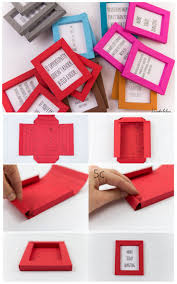 truebluemeandyou:DIY Paper Frame Tutorial and Printable from kreativbuehne.  These folded paper frames are