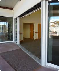 image of sliding door track