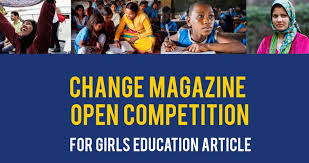 change magazine essay competition for girls education