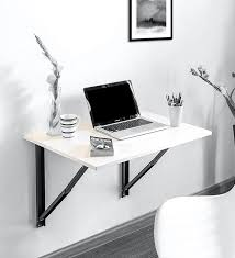 folding wall mounted study table