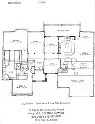 Find Sun City Grand Hearthstone Floor Plan U2013 Leolinda Bowers Hearthstone Homes Floor Plans