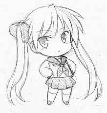 ảnh Anime Chibi Cute Dễ Vẽ