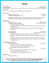Biology Resume Samples Marine Resume Examples Fresher Engineer Sample Biology Engineering 19