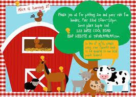 farm birthday invitations by means of creating surprising outlooks around your birthday invitation templates stunning farm birthday invitations