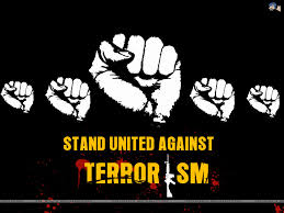 Image result for say no to terrorism posters