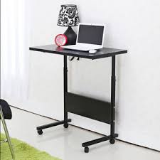 height adjustable office desk. Image Is Loading Portable-Laptop-Table-Stand-Height-Adjustable -Livingroom-Black- Height Adjustable Office Desk