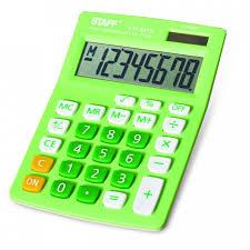 <b>Staff Калькулятор</b> настольный STF-8318 - Акушерство.Ru