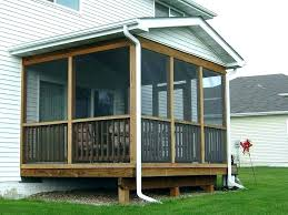 how to build a screened in porch plans screen porch plans covered mobile home amazing ideas how to build a screened in porch plans