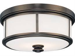minka lavery harvard court bronze 13 5 wide two light flush mount light