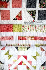 28 best Moda Poppy Mae & Blushing Peonies images on Pinterest ... & Quilts (Color and Quilt patterns by Robin Pickens) using Poppy Mae fabric  by Moda Adamdwight.com