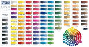 Lucite Color Chart Experienced Golden Acrylic Paint Color Chart 2019