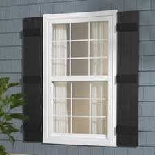 black vinyl shutters. Exellent Shutters Severe Weather 2Pack Black Raised Panel Vinyl Exterior Shutters Common  15In X 67In Actual 145In 665In Lr67  Products Pinterest  Inside T