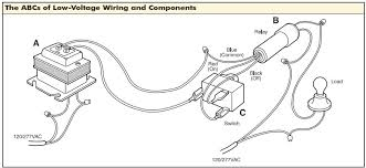 low voltage wiring diagrams wiring diagram for low voltage lighting the wiring diagram just a flip and a relay and