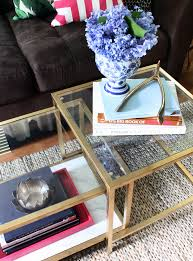 5 ikea diy coffee table gold spray paint how to budget easy makeover marble
