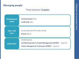 my personal development plan personal development planmanaging