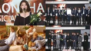 Bts Gaon Chart Kpop Awards 2018 Gaon Chart Awards 2018 Iu And Bts Crowned To Queen And King