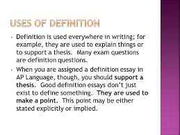 a mode they include three basic parts the term it s  4 definition is used everywhere in writing for example