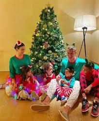 Los mejores juegos de navidad, juegos de santa claus. Cristiano Y Georgina Simpatico Posado Navideno Con Sus Hijos