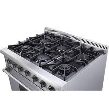 china stainless steel 36inch 6 burner gas range50