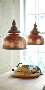 copper light pendant s donez pendant light shade copper