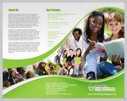 Sample College Brochure Acorn College Brochure by Deejay Designz Design Pinterest 1