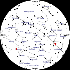 Tonights Star Chart Woroworld Nw New Jerseys School Day Weather Forecasts