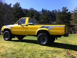 Restored 1980 Toyota 4x4 Pickup, Original Turn Key Ready Truck -22r