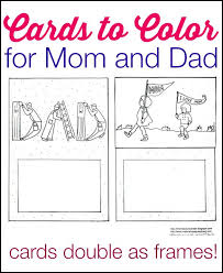 If you're interested, i also have a father's day coloring worksheets post. Printable Mother S Day And Father S Day Cards To Color