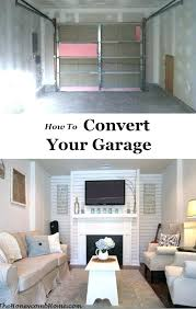 convert garage to living space garage living room how to convert your garage into usable living convert garage