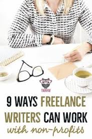 how to become a lance writer and work at home lance 9 ways lance writers can work non profits