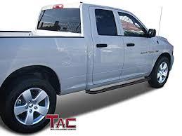 TAC Side Steps for 2009-2018 Dodge Ram 1500 Quad Cab Truck Pickup 3 ...