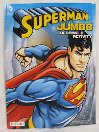 This is free coloring book for all of you, especially for your boy. Superman Coloring Book Unused Jumbo And Activity Dc Comics Bendon 2013 Book Activities Books Color Activities